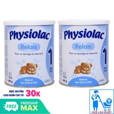 [COMBO 2 HỘP] SỮA BỘT PHYSIOLAC 1 400G