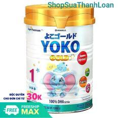 [HSD T10-2022] Sữa bột YOKO 1 (350g) {cho trẻ từ 0 – 1 tuổi}