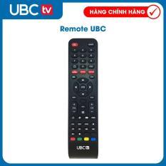 Remote tivi UBC (Đen)