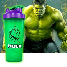 Bình Lắc Shaker Tập Gym 700ML – Siêu Anh Hùng Marvel, DC