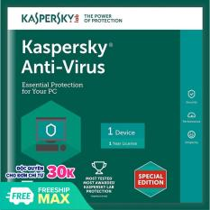 Kaspersky Anti-Virus cho 1PC