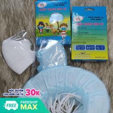 Combo 02 Hộp 20 cái khẩu trang trẻ em 5D mask kháng khuẩn Famapro Nam Anh – cho bé (1 – 4 ) tuổi