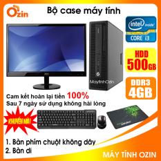 Bộ case máy tính HP CPU Dual Core E5xxx / Core i3-4130 / Ram 4GB / HDD 250GB-500GB / SSD 120GB-240GB + Màn hình + [QUÀ TẶNG] – OZ
