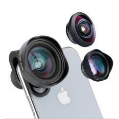 Lens điện thoại, máy quay chính hãng Ulanzi 65mm 4K HD 2X Telephoto Phone Lens FULC1 chụp ảnh cực xa với hình ảnh cực nét