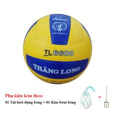 Bóng Chuyền Thăng Long 6600 + Túi Lưới Đựng Bóng + Kim Bơm Bóng