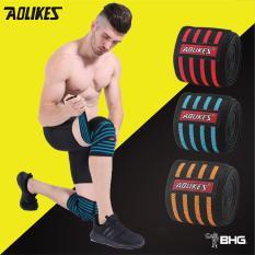 Đôi Dây Quấn Gối Tập Gym, Đai Gối Thể Hình AOLIKES (Đôi)