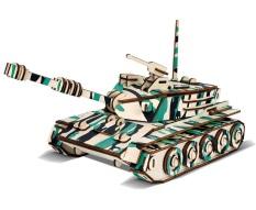 Đồ chơi lắp ráp 3D gỗ mô hình xe tăng – 152 mảnh ghép