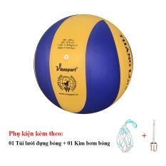Bóng Chuyền Thăng Long 5030 + Túi Lưới Đựng Bóng + Kim Bơm Bóng