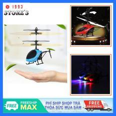 Máy bay điều khiển cảm ứng bằng tay có đèn