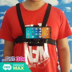 Bộ dây đeo điện thoại vào ngực làm camera hành trình