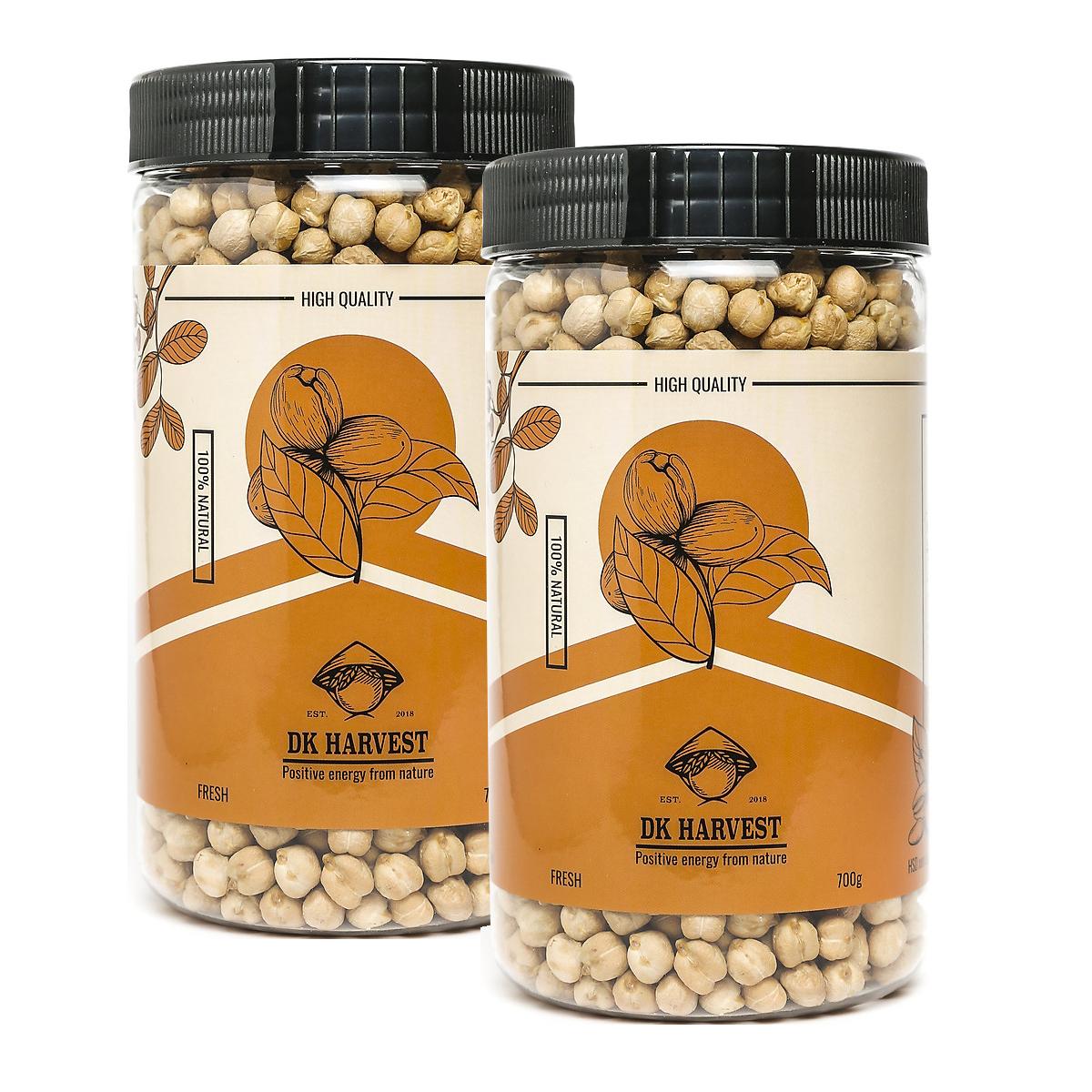 Combo 2 Hạt đậu gà DK Harvest nhập khẩu – 1k4 ( 2 hũ 700g)