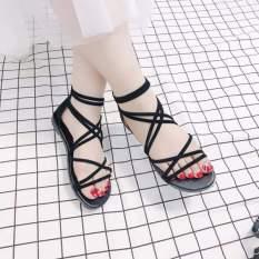 Sandal bệt chiến binh nhiều dây chéo SM01