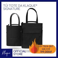 Túi Tote Da Thời Trang Klaque® Signature