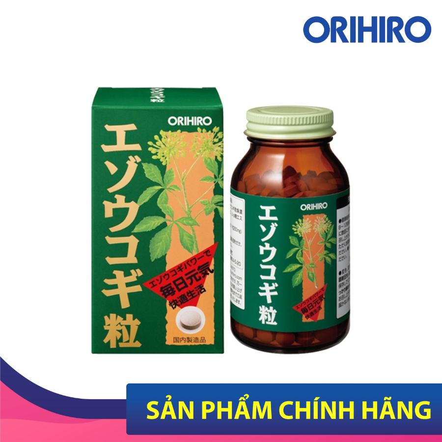 Viên Uống Eleuthero Orihiro 400 Viên Giúp Cải Thiện Hiệu Quả Hoạt Động Của Hệ Thần Kinh
