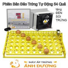 Máy Ấp Trứng P100 Đảo Trứng Tự Động 54 Quả + Đèn Soi Chuyên Dụng + Gói Úm Gà Vitamin, Hướng Dẫn