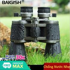 Ống nhòm Nga Baigish BG10X50 đặc chủng nhìn ngày và đêm phối hợp kính thiên văn độ nét cao loại 10X50 1000m -Kingshop nhập