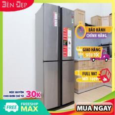 [Nhập ELJAN12 giảm 10%, tối đa 200k, đơn từ 99k][TRẢ GÓP 0%] Tủ lạnh Sharp Inverter 626 lít SJ-FX630V-ST hệ thống làm lạnh kép khử mùi Nano (Miễn phí giao tại HN-ngoài tỉnh liên hệ shop)