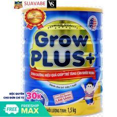 Sữa bột Nutfoodi Grow Plus + 1.5kg (Xanh)