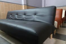Sofa Giường đa năng 1m8, Đen huyền bí