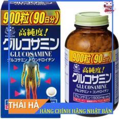 Viên uống bổ khớp Glucosamine 900 Viên Orihiro Tăng Chất Nhờn Giúp Giảm Đau Xương Chắc Khoẻ
