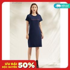 Đầm GUMAC DA1127 thiết kế tay dơi chất liệu thun TC mát mẻ