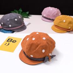 Mũ Baker Boy Cho Bé Gái TrueKids Có Nơ Phong Cách Hàn Quốc Cực Đẹp
