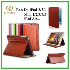 Bao Da iPad 2-3-4 / Mini 1-2-3-4-5 / Air 1-2 / iPad new 2017-2018 / Pro 9.7-10.5-11inch / Gen 7 10.2inch Chính Hãng KAKU