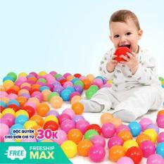 Dây 100 quả bóng nhựa nhiều màu cho bé