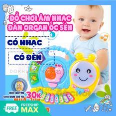 Đàn đồ chơi cho bé mẫu đàn piano hình chú ốc sên dùng pin có nhạc, có đèn xinh xắn 3021 – đàn cho bé – Đồ khuyến mãi giá tốt