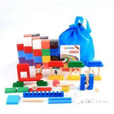 Đồ chơi giáo dục xếp hình Domino dành cho các bé