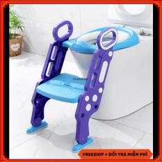 Dụng cụ thu nhỏ bồn cầu cho bé – Bệ lót bồn cầu cho bé thiết kế hình cầu thang – Bệ lót thu nhỏ bồn cầu – Ghế bệ lót ngồi vệ sinh cho bé [SALE 1 NGÀY]