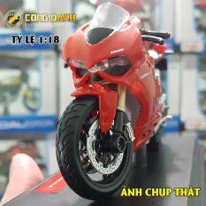 Xe Mô Hình Moto Ducati 1199 Panigale 1:18