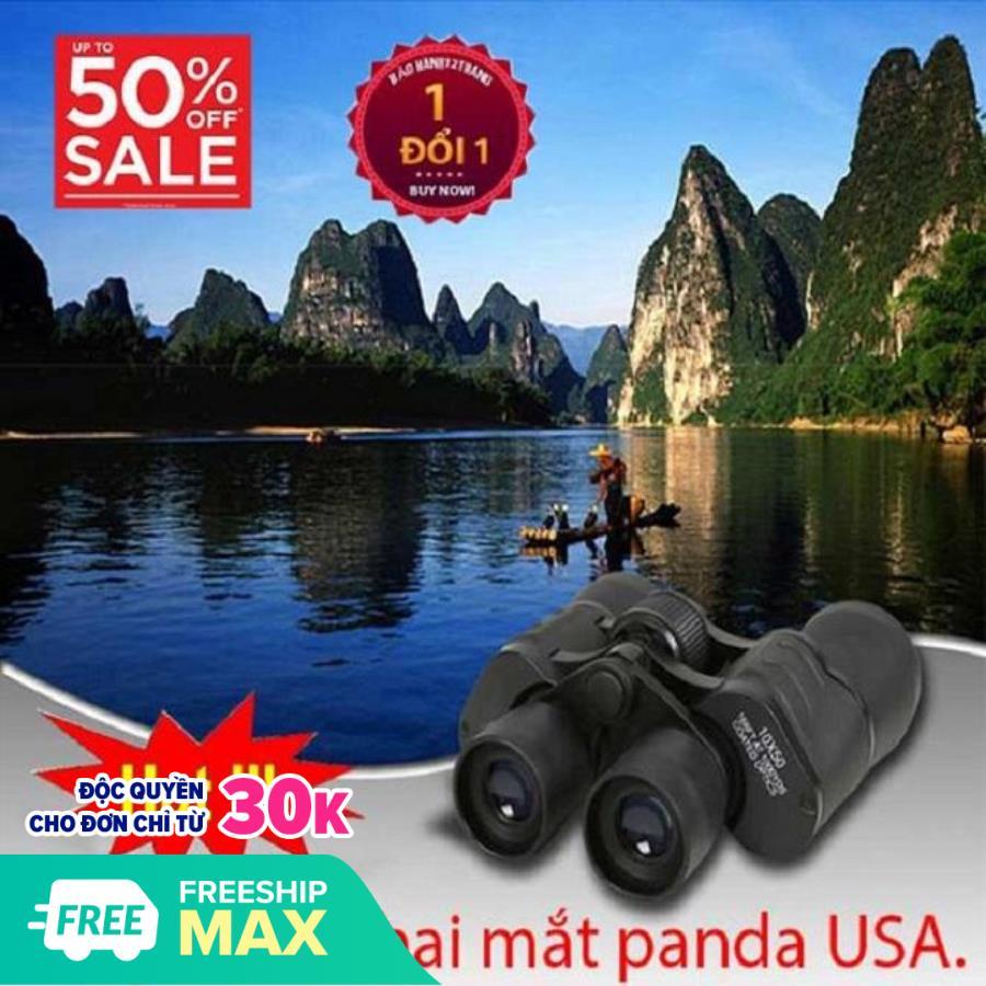 Mua ống nhòm ở đâu tphcm,Ống nhòm panda 2 mắt cao cấp, hệ thống lăng kính cho hình ảnh sắc...