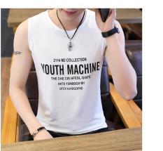 áo thun nam, áo thun ba lỗ nam, áo thun ba lỗ in hình YOUTH MACHINE nam mẫu mới siêu hot, vải dày siêu thoáng mát