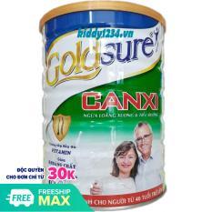 [sale]Sữa Goldsure canxi NL ngừa loãng xương tiểu đường 900g (date mới)