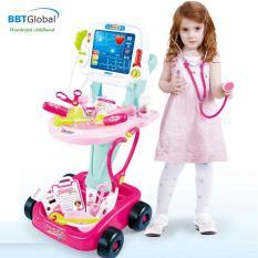 Bộ đồ chơi bác sỹ xe đẩy cao cấp 660-45 – đồ chơi trẻ em, đồ chơi y tế, đồ chơi bác sĩ, đồ chơi nhập vai