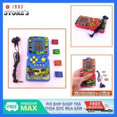 Máy chơi game cầm tay Brick Game tuổi thơ kèm tai nghe