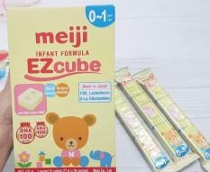 Combo 5 thanh sữa Meiji Infant Formula EZcube cho bé từ 0-12 tháng (Date:11/10/2022)