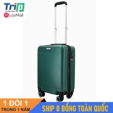 [MIỄN PHÍ SHIP] Vali du lịch TRIP P808 nhựa cao cấp size 20inch xách tay lên máy bay