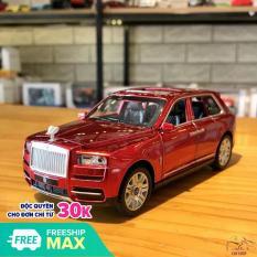 Mô hình xe ô tô Rolls-Royce Cullinan tỉ lệ 1:32 màu đỏ