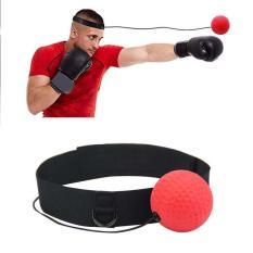 Bóng Phản Xạ Võ Thuật – Boxing Ball Headband, Bóng Phản Xạ Tốc Độ Đấm, Bóng Huấn Luyện Tay Phối Hợp Mắt với Đầu Cải Thiện Phản Ứng, Bóng Đấm Boxing Tập Thể Dục Đánh Bóng với Băng cho Phản Xạ Tốc Độ