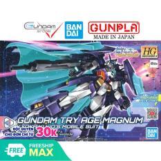 Gundam Bandai Hg Try Age Magnum 1/144 Hgbd Build Divers Re: Rise Mô Hình Nhựa Đồ Chơi Lắp Ráp Anime Nhật