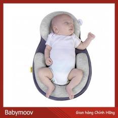 Đệm Ngủ Đúng Tư Thế Babymoov Dàn Lực Đều Vùng Đầu Mềm Mại Thoáng Khí (Hãng Phân Phối Chính Thức)
