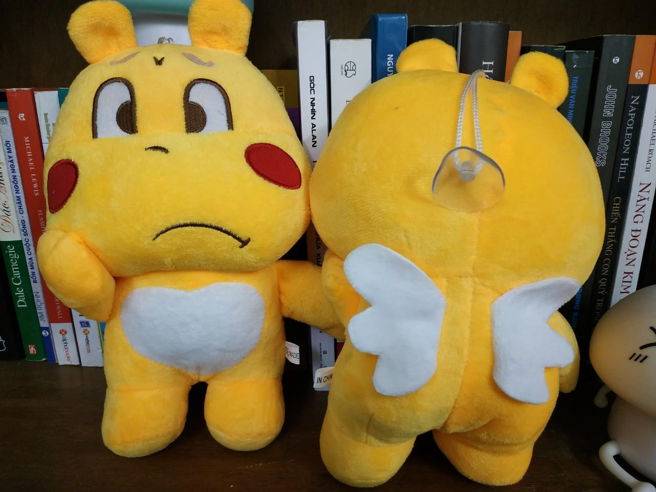 Gấu nhồi bông Qoobee Agapi 20cm siêu dễ thương