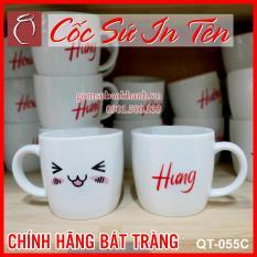 [SIÊU HOT] Cốc sứ in tên theo yêu cầu hàng đẹp chất lượng in cốc in ly sứ đẹp chuẩn Bảo Khánh Bát Tràng