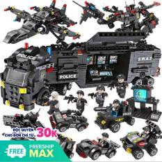 Bộ lắp ráp kiểu lego Swat 27 mô hình C010