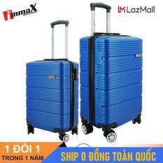 Bộ 2 vali du lịch immaX X13 size 20icnh + 24inch/ Bộ vali nhựa du lịch 2 size