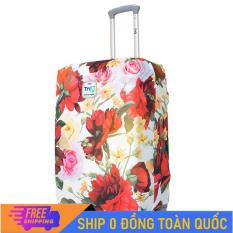 [MIỄN PHÍ SHIP] Áo trùm vali TRIP Size S dùng cho vali từ 18inch – 20inch /Áo vali thời trang vải thun co dãn 4 chiều
