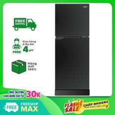 TRẢ GÓP 0% – Tủ lạnh Aqua 130 lít AQR-T150FA BS, công nghệ làm lạnh đa chiều, kháng khuẩn, khử mùi với công nghệ Nano Fresh Ag+ – Bảo hành 24 tháng
