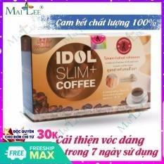 Cà phê giảm cân idol slim 3 IN 1 (Hộp 10 gói nhỏ x 15g) Mai Lee – ca phe giam can idol slim – cfe giam can mai lee